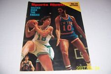 1972 Sports Illustrated BOSTON CELTICS New York Knicks DAVE Cowens FRAZIER N/Lab