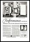 1935 General Electric All-Steel Refrigerators Monitor Top Flatop G. E. Print Ad photo