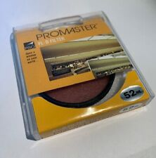 Promaster 52mm FL-DAY FL-D Filter Fluorescent Made in Japan FLD *New*