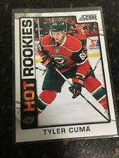 SCORE HOCKEY 2012-13 TYLER CUMA HOT ROOKIES CARD 536 MINNESOTA WILD NEAR MINT