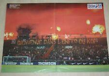 POSTER )) TRIBUNE BOULOGNE KOB / OM V PSG 2003/2004