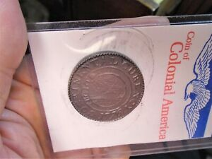 1776 Colonial America Continental Dollar Coin ~ Original Sleeve & Story
