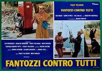 T28 Fotobusta Fantozzi Gegen Alle Paolo Dorf Gigi Reder Paul Muller 3