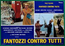 T28 FOTOBUSTA FANTOZZI CONTRO TUTTI PAOLO VILLAGGIO GIGI REDER PAUL MULLER 3