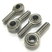 "ROD END BEARING 5/8"" x 5/8""-18 RH STAINLESS STEEL TEFLON - LOT OF 4 PCS"