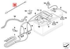 Genuine BMW E60 E70 E71 E81 E82 E84 E87 E87N Adapter lead IBS OEM 61129123571