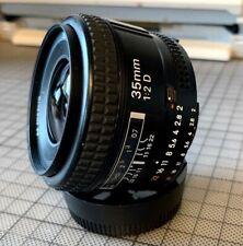 Nikon 35mm f/2 AF D Nikkor Lens