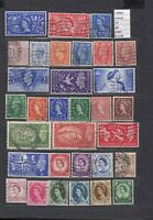 STAMPS LOT  GREAT BRITAIN   USED  (L30862)