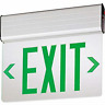BRAND NEW - LITHONIA EDGE LIT LED EXIT SIGN (GREEN) DOUBLE FACE #EDG 2 GMR EL M6