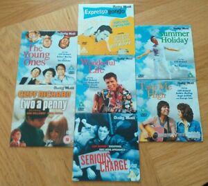 Cliff Richard Daily Mail 7 Promo DVD set(Free UK Post)