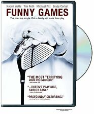 FUNNY GAMES DVD Naomi Watts Tim Roth Michael Pitt Brady Corbet WS & FS Sealed