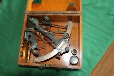LATE 19th CENTURY BRITISH HEZZANITH SEXTANT BY HEATH AND CO.