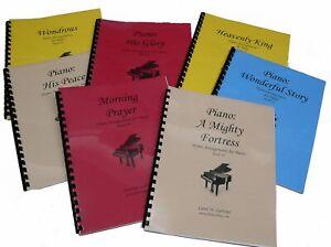7 Church Hymn Arrangements Books for Piano - Books 15-21 Solo Offertory Worship
