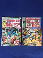 Mighty Marvel Western 11,12 1970, 2 Issue Lot. Rawhide Kid, Kid Colt, TwoGun Kod
