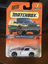 1998 MATCHBOX Stars & Stripes Dodge Viper GTS Coupe #1