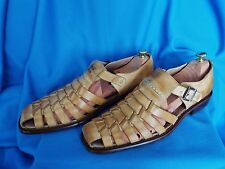 "Rare Fratelli select ""Harold Jackson"" Mens Sandals rare size 16 manly sandals"
