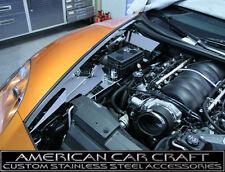 2005-2012 Corvette C6 & Grand Sport Polished Inner Fender Liner - 8 Piece Set