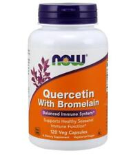 Quercetin with Bromelain 120 vcaps by NOW Foods