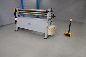 sahinler Initial pinch power  metal Bending rollers 1570mm x 90mm 2 mm vat inc