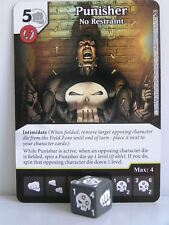 Marvel dice Masters - #124 Punisher no restraint-civil fue