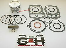 NEW Honda ATC 200E ES Big Red 200S Piston & Top Gasket Set Kit 4th Over 66.00mm