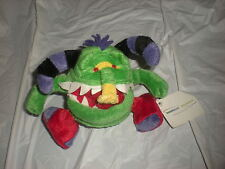 "TAMPA BAY TAMPABAY.COM PLUSH GREEN  MONSTER 6"" NEW"