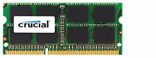 Crucial 8GB DDR3 1333 MHz PC3-10600 SODIMM 204 pin Laptop Memory CT102464BF1339