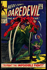DAREDEVIL 32 1967 Cobra Mr Hyde Gene Colan Stan Lee Silver Age Comic Dare Devil