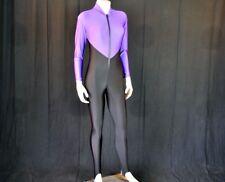 Aeroskin California Purple/Black Divesuit Wetsuit Beach Water Sun Protection MED