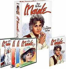 MAUDE:THE COMPLETE SERIES,SEASONS 1-6,19 DISC SET  Visa/MC Pay only