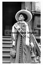 rp02807 - Suffragette Trixie Friganza New York 1908 - photo 6x4