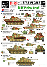 Star Decals 35-958, Decals for Op. Nordwind #2.German tanks in the Ardennes,1:35