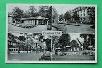 Hessen 2) AK Herzbad Orb 1950 neue Lesehalle Küppelsmühle Kuranlage Gebäude