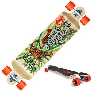 "Adrenalin Tora Tora Freerider Longboard Skateboard - 40"" x 10"""