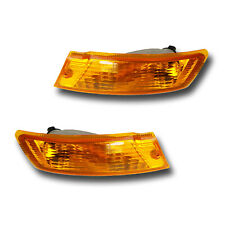 Fits 05-07 Jeep Liberty Left + Right Turn Signal Parking Light Assembly 1 Pair