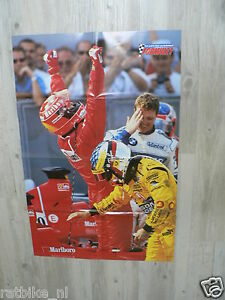 107 FORMULE ONE F1 POSTER MICHAEL SCHUMACHER GRAND PRIX FERRARI 2000 OR 2001