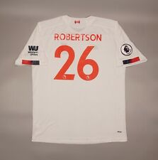 Robertson #26 Liverpool 2019 2020 Away Football Soccer Shirt Jersey 4XL Camiseta