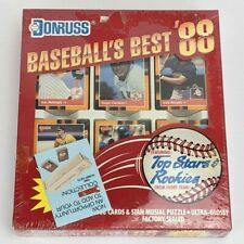 DONRUSS Baseball's Best 1988 1st Edition Collector's Set Factory Sealed 336 Card
