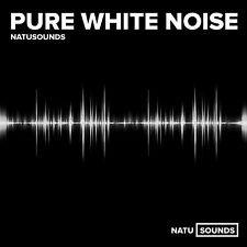 Pure White Noise Audio CD Natural Sounds Relaxation Sleep Stress Colic Tinnitus