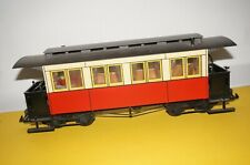 URF41] LGB Lehmann G Scale Passenger Car 4 Axle Red / Both Art No. ? Boxed