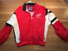 Vtg STEVE YZERMAN Detroit Red Wings SIGNED Autograph Starter Jacket Personilized