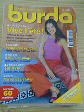 MAGAZINE BURDA FANTAISIES DU STYLE COUNTRY VIVE L'ETE   JUIN   2000