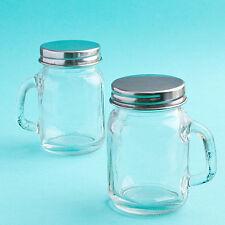 100 - Glass Mason Jars Wedding Favors Mini Size Jars