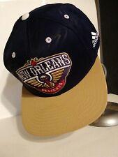 NBA New Orleans Pelicans Adidas Snap Back Cap Hat