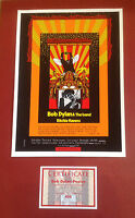 BOB DYLAN - 50th Anniversary  ISLE OF WIGHT FESTIVAL 1969 LIMITED EDITION POSTER