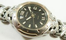 Seiko Two-Tone Stainless Steel 7N42-0BB8 Sample Watch NON-WORKING