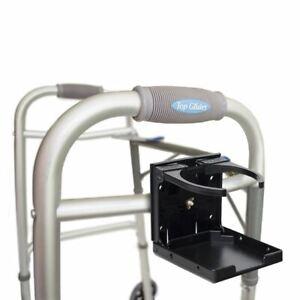 Standard Size Universal Folding Cup Holder for Walker/Wheelchair/Rollator - All