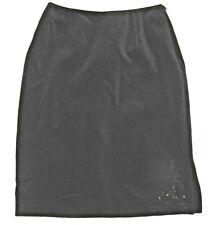 CLASSY Black velvet skirt LAURA ASHLEY - UK 8 BNWT