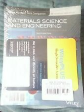 Materials Science and Engineering: An Introduction, 10e WileyPLUS NextGen