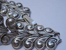 Modernist  Silberarmband 925 Silber Bracelet Armband 20cm Gliederarmband Nr. 255